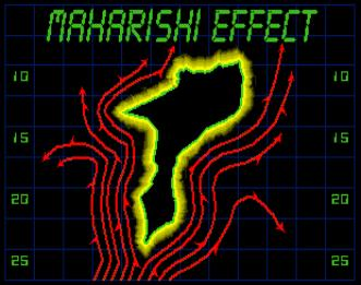diagram explaning the Maharishi Effect
