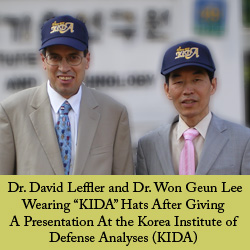 Dr. David Leffler and Dr. Won Geun Lee