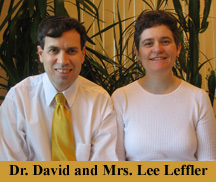 Dr. David and Mrs. Lee Leffler
