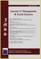 Picture of the cover of The Journal of Management & Social Science (JMSS)