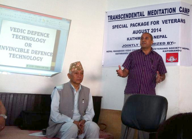 invincible defense technology IDT Nepal Col. Karki lectures about Invincible Defense